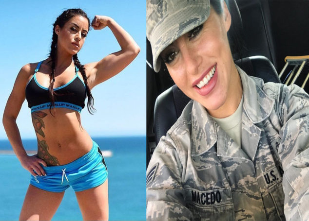 Alysia Macedo: The Wonder Woman in US Air Force is a Fitness Influencer