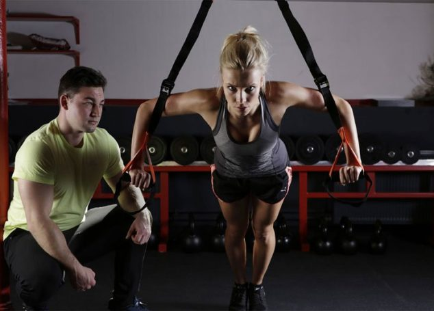 How is it beneficial for you to have a personal trainer