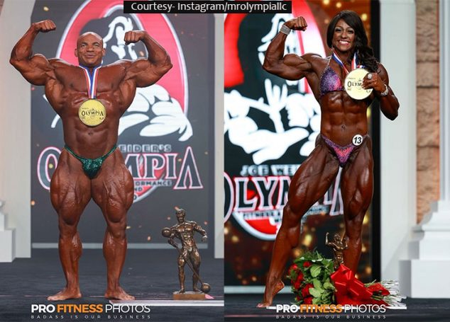 The Winners Of Mr. Olympia 2020